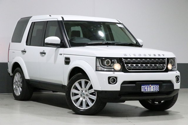 Used Land Rover Discovery MY15 3.0 TDV6, 2014 Land Rover Discovery MY15 3.0 TDV6 White 8 Speed Automatic Wagon