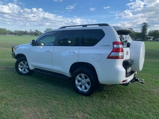 2015 Toyota Landcruiser Prado GDJ150R GXL Glacier White 6 Speed Sports Automatic Wagon