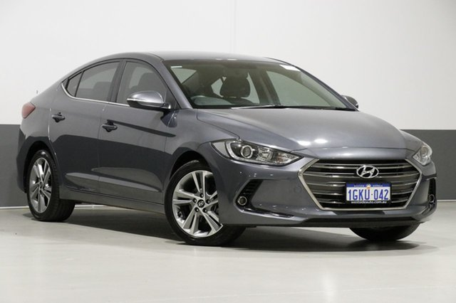 Used Hyundai Elantra AD Elite 2.0 MPI, 2017 Hyundai Elantra AD Elite 2.0 MPI Grey 6 Speed Automatic Sedan