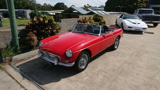 1970 MG B Mk 2 Red 4 Speed Manual + O/Drive Roadster