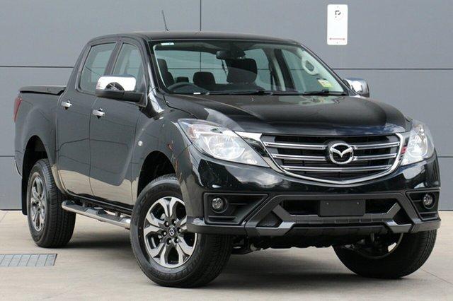 New Mazda BT-50 UR0YG1 XTR 4x2 Hi-Rider, 2019 Mazda BT-50 UR0YG1 XTR 4x2 Hi-Rider Jet Black 6 Speed Sports Automatic Utility