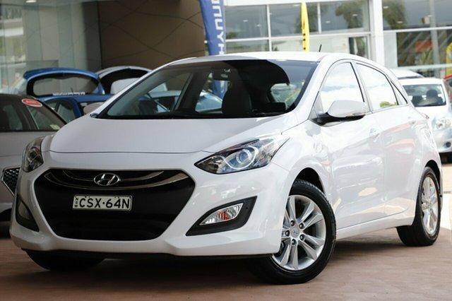 Used Hyundai i30 GD MY14 Trophy, 2014 Hyundai i30 GD MY14 Trophy White 6 Speed Automatic Hatchback