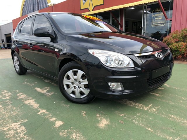 Used Hyundai i30 FD MY09 SX, 2009 Hyundai i30 FD MY09 SX Black 5 Speed Manual Hatchback