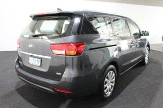 2016 Kia Carnival YP MY16 S Grey 6 Speed Sports Automatic Wagon.