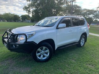 2015 Toyota Landcruiser Prado GDJ150R GXL Glacier White 6 Speed Sports Automatic Wagon.