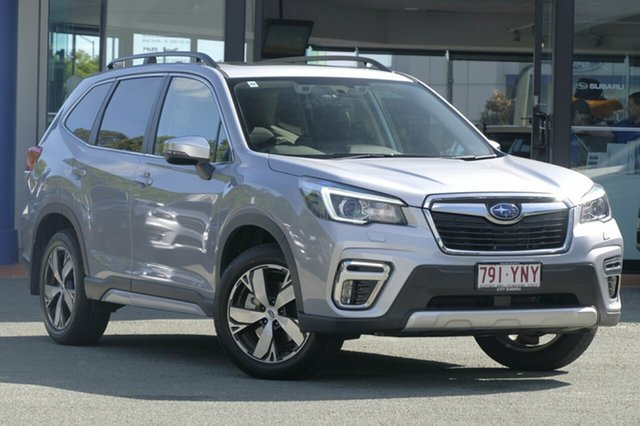 Demo Subaru Forester S5 MY19 2.5i-S CVT AWD, 2018 Subaru Forester S5 MY19 2.5i-S CVT AWD Ice Silver 7 Speed Constant Variable Wagon