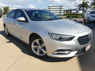 2017 Holden Commodore ZB MY18 LT Liftback Silver 9 Speed Sports Automatic Liftback.