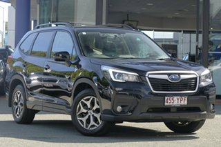2018 Subaru Forester S5 MY19 2.5i-L CVT AWD Crystal Black 7 Speed Constant Variable Wagon.