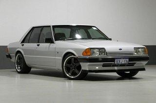 1982 Ford Fairmont XE Ghia Silver 3 Speed Automatic Sedan.