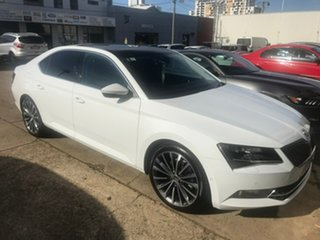 2018 Skoda Superb NP MY19 162TSI Sedan DSG White 6 Speed Sports Automatic Dual Clutch Liftback.