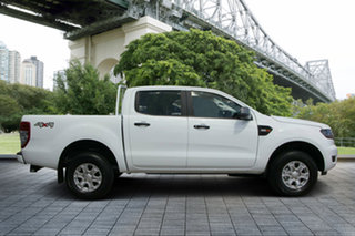 2018 Ford Ranger PX MkII 2018.00MY XLS Double Cab White 6 Speed Sports Automatic Utility.