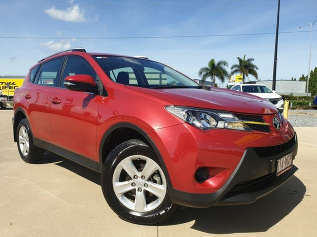 Used Toyota RAV4 ZSA42R GX 2WD, 2013 Toyota RAV4 ZSA42R GX 2WD Red 6 Speed Manual Wagon