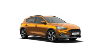 2019 Ford Focus SA 2019.75MY Active Orange 8 Speed Automatic Hatchback.