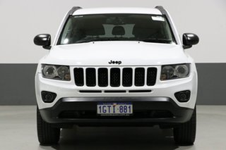 2014 Jeep Compass MK MY15 Blackhawk White Continuous Variable Wagon.