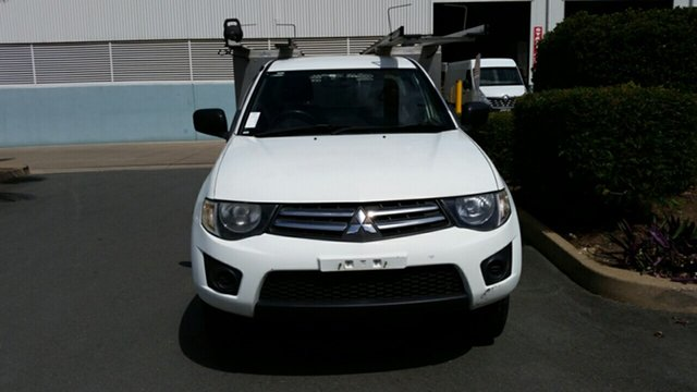 Used Mitsubishi Triton MN MY12 GLX 4x2, 2012 Mitsubishi Triton MN MY12 GLX 4x2 White 4 Speed Automatic Utility