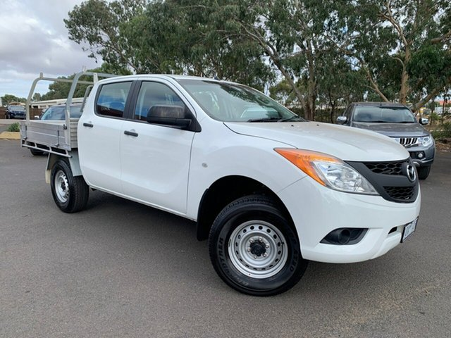 Used Mazda BT-50 UP0YF1 XT Freestyle 4x2 Hi-Rider, 2014 Mazda BT-50 UP0YF1 XT Freestyle 4x2 Hi-Rider White 6 Speed Sports Automatic Cab Chassis