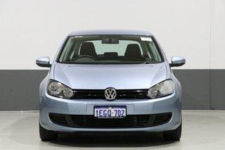 2009 Volkswagen Golf 1K 6th Gen 90 TSI Trendline Blue 6 Speed Manual Hatchback.