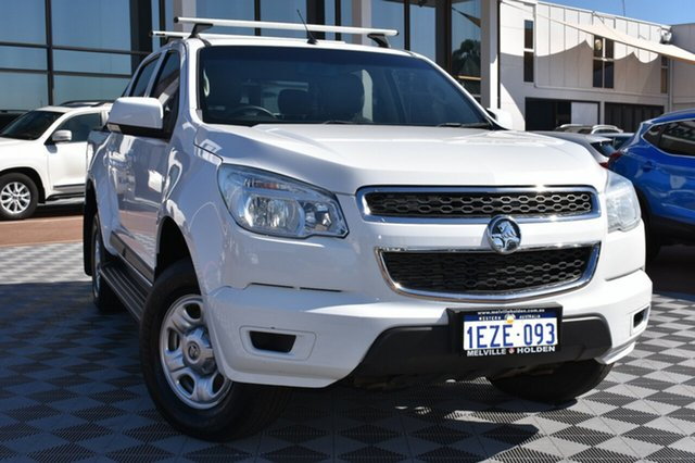 Used Holden Colorado RG MY16 LS Crew Cab, 2016 Holden Colorado RG MY16 LS Crew Cab White 6 Speed Sports Automatic Utility