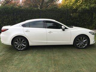 2018 Mazda 6 GL1032 GT SKYACTIV-Drive White Pearl 6 Speed Sports Automatic Sedan.