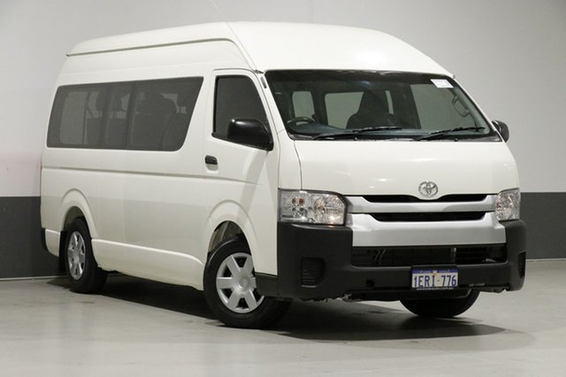 Used Toyota HiAce KDH223R MY15 Commuter, 2015 Toyota HiAce KDH223R MY15 Commuter White 5 Speed Manual Bus