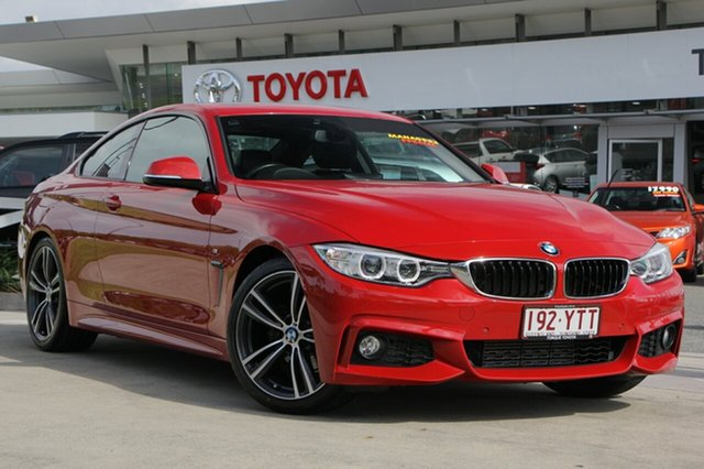 Used BMW 420i F32 Sport Line, 2014 BMW 420i F32 Sport Line Red 8 Speed Sports Automatic Coupe