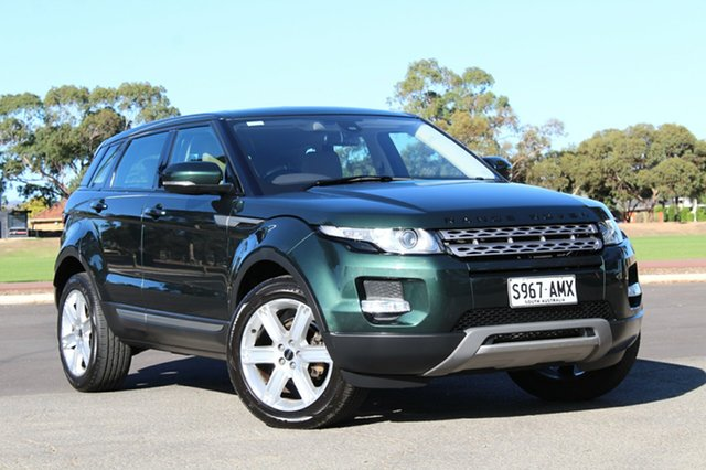 Used Land Rover Range Rover Evoque L538 MY12 SD4 CommandShift Pure, 2011 Land Rover Range Rover Evoque L538 MY12 SD4 CommandShift Pure Green 6 Speed Sports Automatic