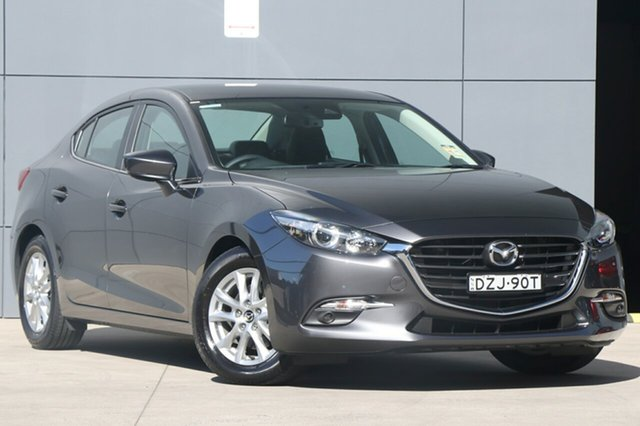 Demo Mazda 3 BN5278 Touring SKYACTIV-Drive, 2018 Mazda 3 BN5278 Touring SKYACTIV-Drive Machine Grey 6 Speed Sports Automatic Sedan