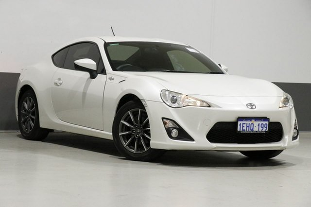 Used Toyota 86 ZN6 GT, 2013 Toyota 86 ZN6 GT White 6 Speed Manual Coupe