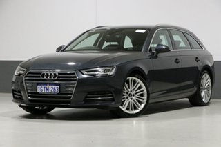 2016 Audi A4 F4 MY17 (B9) 2.0 TFSI Quattro Sport Grey 7 Speed Auto Dual Clutch Wagon.