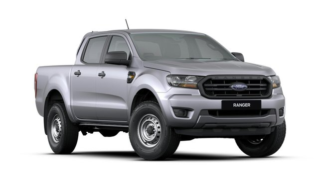 New Ford Ranger PX MkIII 2020.25MY XL Pick-up Double Cab, 2020 Ford Ranger PX MkIII 2020.25MY XL Pick-up Double Cab Silver 6 Speed Sports Automatic Utility