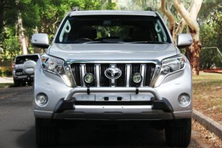 2016 Toyota Landcruiser Prado GDJ150R Kakadu Silver 6 Speed Sports Automatic Wagon