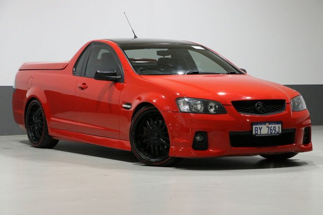 Used Holden Commodore VE II MY12 SS, 2012 Holden Commodore VE II MY12 SS Red 6 Speed Automatic Utility