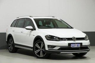 2018 Volkswagen Golf 7.5 MY18 Alltrack DSG 4MOTION 132TSI White 6 Speed Sports Automatic Dual Clutch.