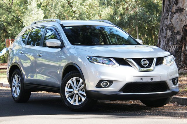 Used Nissan X-Trail T32 ST-L X-tronic 4WD, 2015 Nissan X-Trail T32 ST-L X-tronic 4WD Silver 7 Speed Constant Variable Wagon