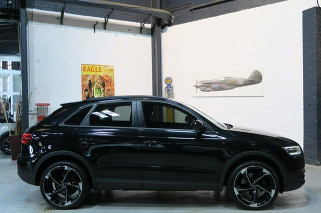 Used Audi Q3 8U MY14 TFSI S Tronic, 2014 Audi Q3 8U MY14 TFSI S Tronic Black 6 Speed Sports Automatic Dual Clutch Wagon