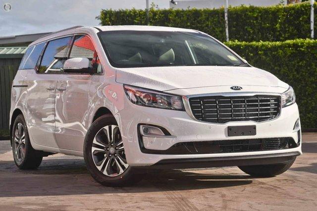 New Kia Carnival YP MY19 SLi, 2018 Kia Carnival YP MY19 SLi Clear White 8 Speed Sports Automatic Wagon