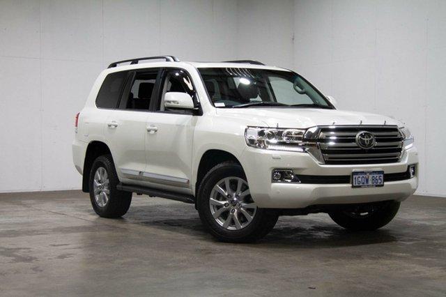 Used Toyota Landcruiser VDJ200R Sahara, 2018 Toyota Landcruiser VDJ200R Sahara White 6 Speed Sports Automatic Wagon