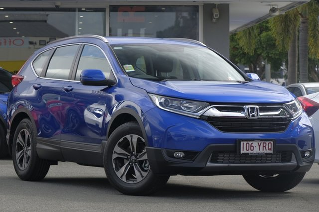 Demo Honda CR-V RW MY19 VTi FWD, 2019 Honda CR-V RW MY19 VTi FWD Blue 1 Speed Constant Variable Wagon