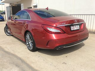 2015 Mercedes-Benz CLS250D C218 806MY d Coupe 7G-Tronic + Red 7 Speed Sports Automatic Sedan