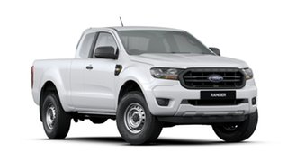 2019 Ford Ranger PX MkIII 2019.00MY XL Pick-up Super Cab White 6 Speed Sports Automatic Utility.