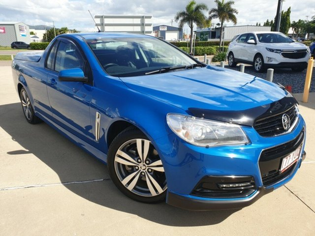 Used Holden Ute VF MY14 SS Ute, 2014 Holden Ute VF MY14 SS Ute Blue 6 Speed Sports Automatic Utility