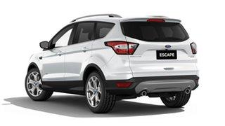2019 Ford Escape ZG 2019.75MY Titanium AWD Frozen White 6 Speed Sports Automatic Wagon.