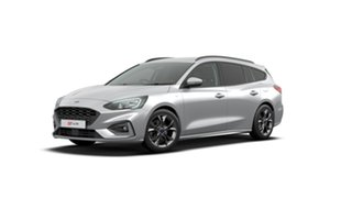 2019 Ford Focus SA 2019.75MY ST-Line Moondust Silver 8 Speed Automatic Wagon