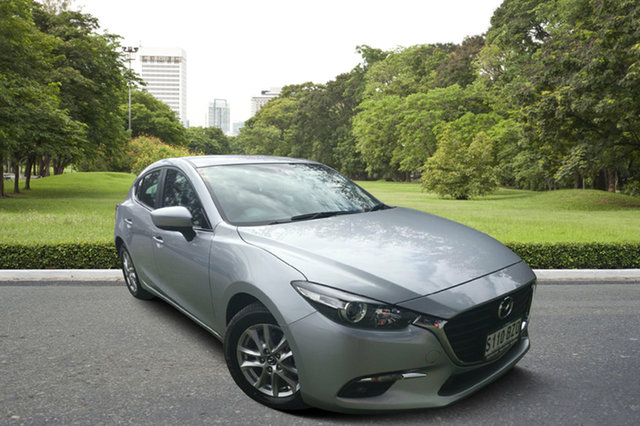 Demo Mazda 3 BN5478 Maxx SKYACTIV-Drive Sport, 2018 Mazda 3 BN5478 Maxx SKYACTIV-Drive Sport Sonic Silver 6 Speed Sports Automatic Hatchback