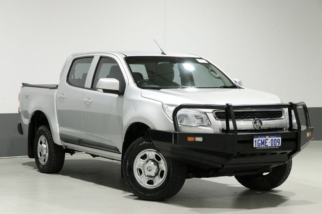 Used Holden Colorado RG MY16 LS (4x4), 2015 Holden Colorado RG MY16 LS (4x4) Silver 6 Speed Automatic Crew Cab Pickup