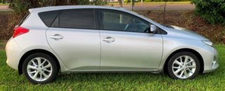 2014 Toyota Corolla ZRE182R Ascent S-CVT Silver 7 Speed Constant Variable Hatchback.