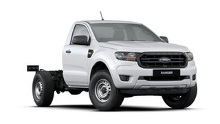 2019 Ford Ranger PX MkIII 2019.75MY XL 4x2 Hi-Rider White 6 Speed Sports Automatic Cab Chassis.