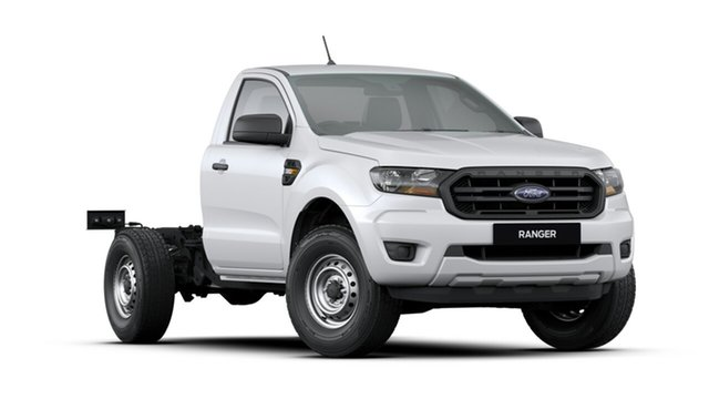 New Ford Ranger PX MkIII 2020.25MY XL 4x2, 2020 Ford Ranger PX MkIII 2020.25MY XL 4x2 Arctic White 6 Speed Manual Cab Chassis