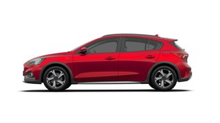 2019 Ford Focus SA 2019.25MY Active Ruby Red 8 Speed Automatic Hatchback