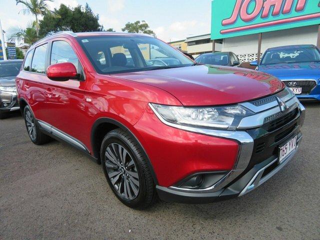 Used Mitsubishi Outlander ZL MY19 ES AWD, 2018 Mitsubishi Outlander ZL MY19 ES AWD Red 6 Speed Constant Variable Wagon